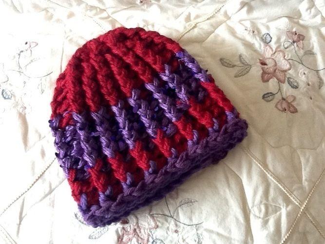 Makerist - Chunky Unisex Crocheted Hat - Crochet Showcase - 2