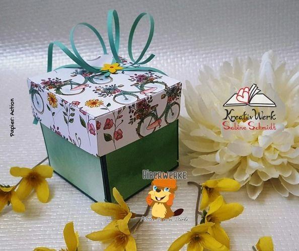Makerist - Explosionsbox Frühlingsgrüße - DIY-Projekte - 1