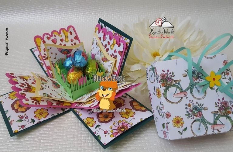 Makerist - Explosionsbox Frühlingsgrüße - DIY-Projekte - 2