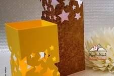 Makerist - Ruckzuck Windlicht Sterne - 1