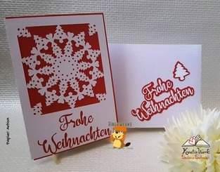 Makerist - Grußkarte  Weihnachtsornament - 1