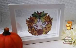 Makerist - Herbstkranz - 1