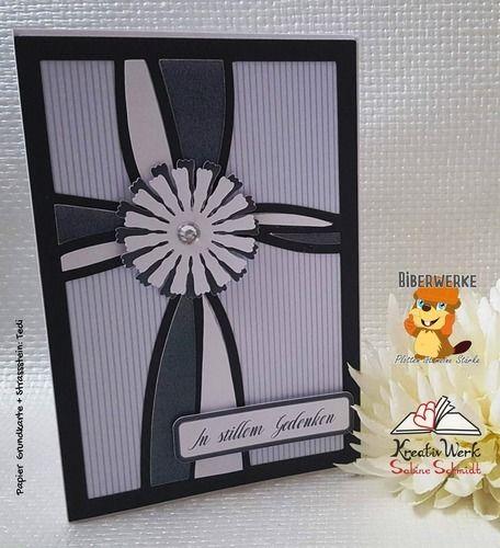 Makerist - Trauerkarte Blume - DIY-Projekte - 1