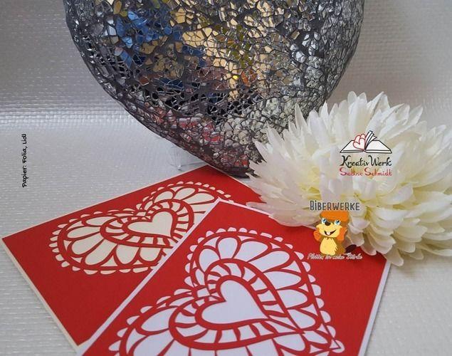 Makerist - Grußkarte mit Herz - DIY-Projekte - 1