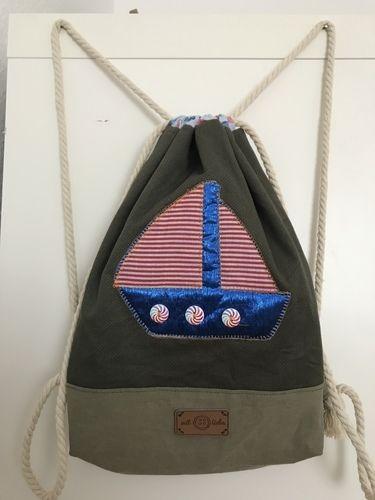 Makerist - Turnbeutel für den kleinen Seeräuber  - Nähprojekte - 1