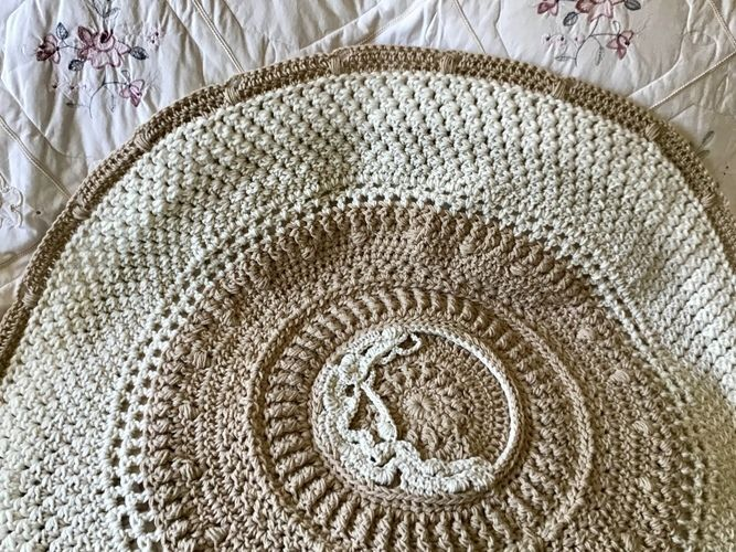 Makerist - Shabby Chic Throw - Crochet Showcase - 2