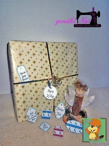 Makerist - Geschenkanhänger für Weihnachten von Biberwerke - DIY-Projekte - 1