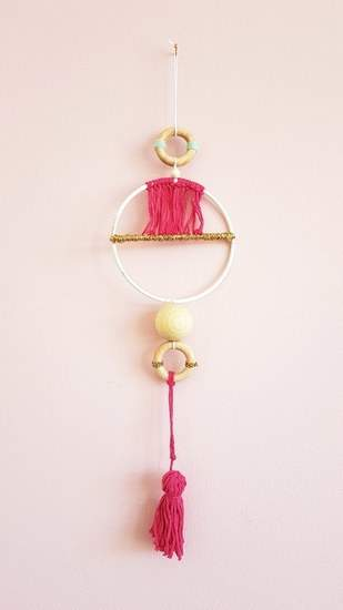 Scandi Wall Hanger aus dem Makerist Magazin