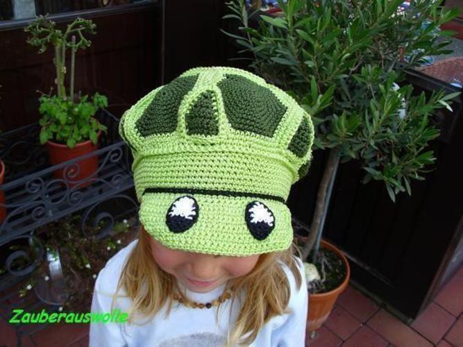 """Makerist - Häkelmütze """"Schildi-Die Schildkrötenmütze"""" für Kinder und Erwachsene - Häkelprojekte - 2"""