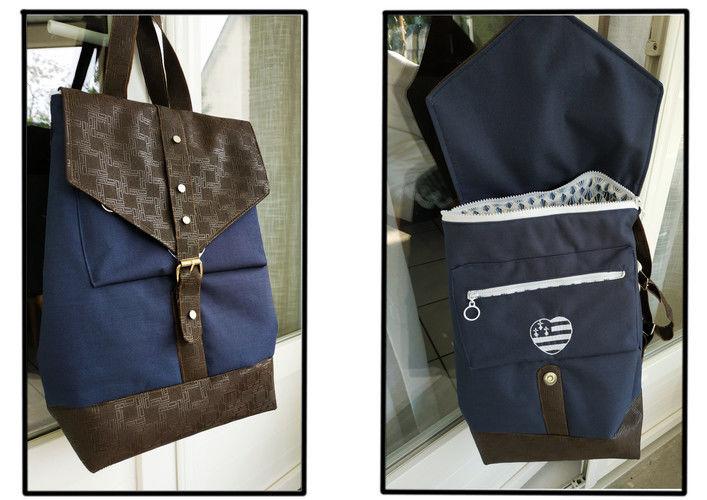Makerist - sac à dos oslo  - Créations de couture - 1