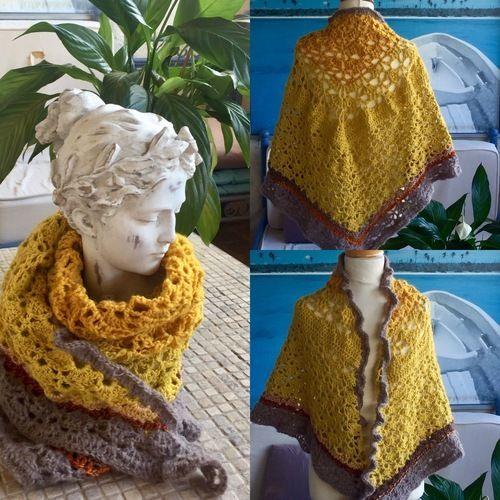 Makerist - Châles multicolores  - Créations de crochet - 1