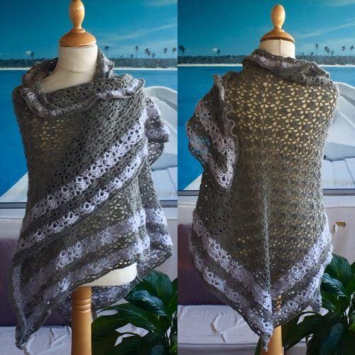 Makerist - Châles multicolores  - Créations de crochet - 2