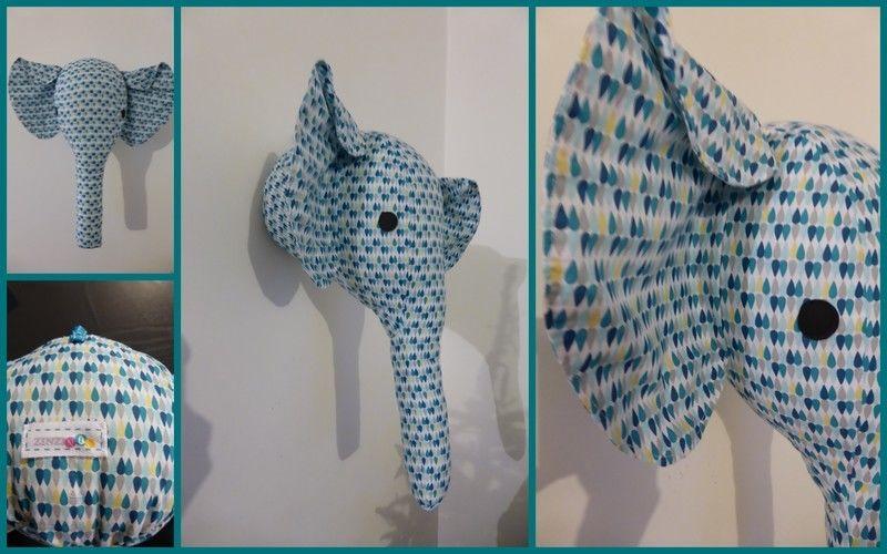 Makerist - Trophée Éléphant - Créations de couture - 1