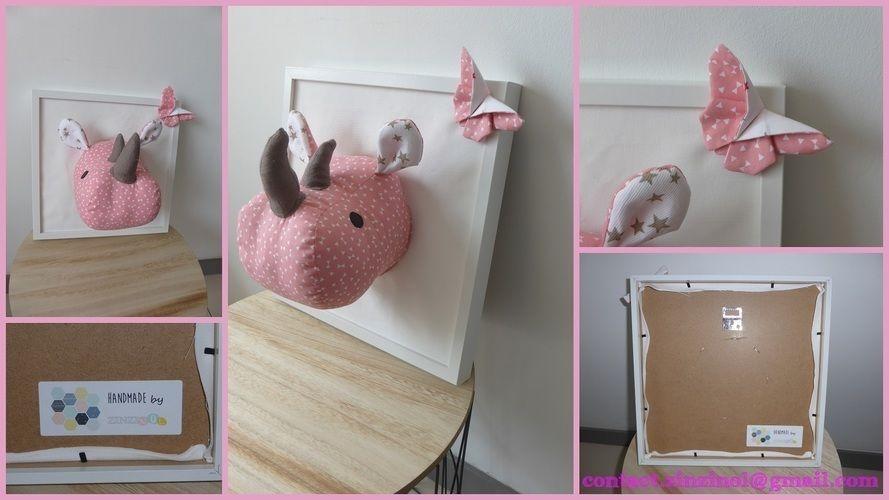 Makerist - Trophée rhino fille - Créations de couture - 1