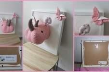 Makerist - Trophée rhino fille - 1