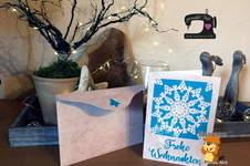 """Makerist - Grußkarte """"Weihnachtsornament"""" von Biberwerke mit passendem Umschlag - 1"""