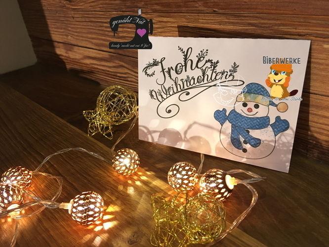 """Makerist - Digistamp """"Frohe Weihnachten"""" von Biberwerke - DIY-Projekte - 1"""