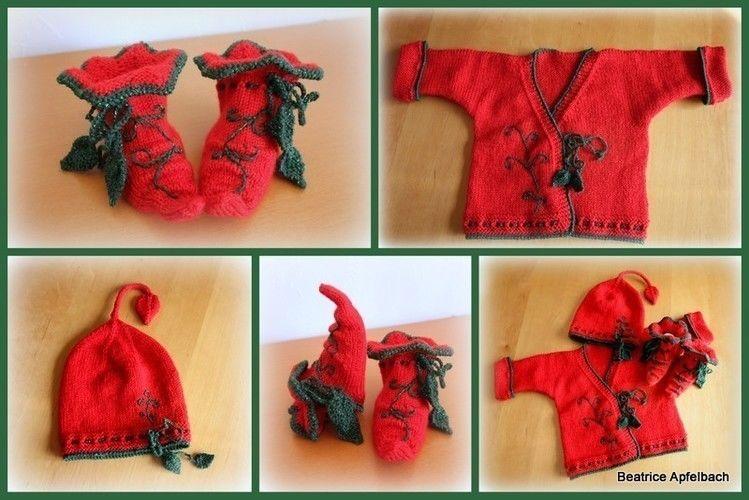 Makerist - Weihnachtswichtel Set - Strickprojekte - 2