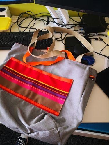 Makerist - Georges m'a inspiré pour le sac de plage  - Créations de couture - 2