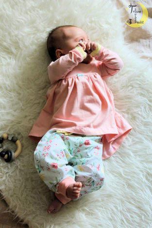 Baby Set, diesmal getragen ♥