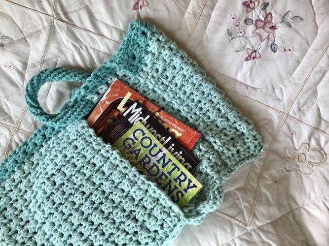Makerist - The Madison Tote Bag - Crochet Showcase - 2