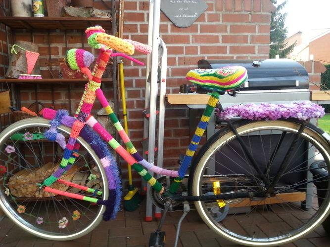 Makerist - Eingestricktes Fahrrad, Wolle - Strickprojekte - 3