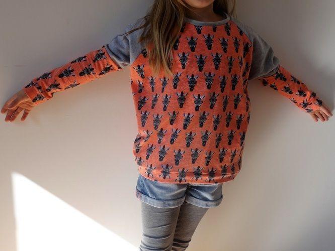 Makerist - Sweat Mona fille manches raglan - Créations de couture - 1