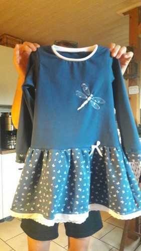 Makerist - der Herbst kommt bestimmt mit Jersey Kleid Lisa kann er kommen - Nähprojekte - 1