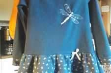 Makerist - der Herbst kommt bestimmt mit Jersey Kleid Lisa kann er kommen - 1