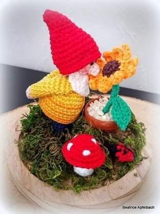 Makerist - kleiner Gartenzwerg - 1