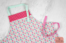 Makerist - Eine Stoffschürze als Geschenk zum Kindergeburtstag - 1