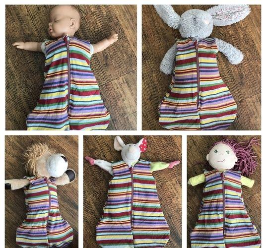 Makerist - Schlafsack für Puppen und Kuscheltiere - Nähprojekte - 2