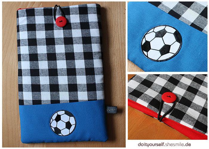 Makerist - Tablet-Tasche im Fußball Design für meinen Neffen - Nähprojekte - 1