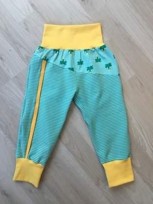 Makerist - Zipply Hose ohne Reißverschluss Gr. 86 - 1