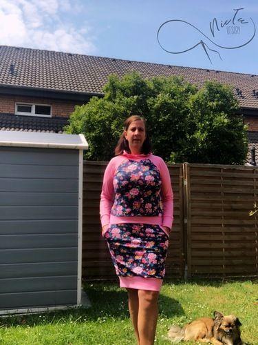 Makerist - Hoodie Kleid Julieta aus Sommersweat von Dreiems    - Nähprojekte - 1