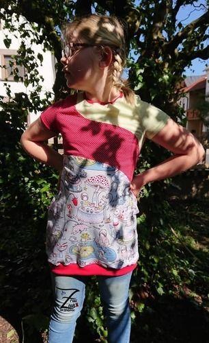 Makerist - Hula Wave jersey mit dreifacher Teilung  - Nähprojekte - 1