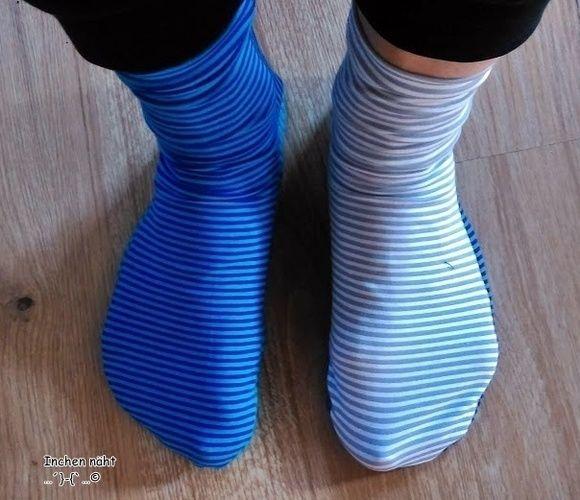 Makerist - Socken Ringelprinzessin - Nähprojekte - 2