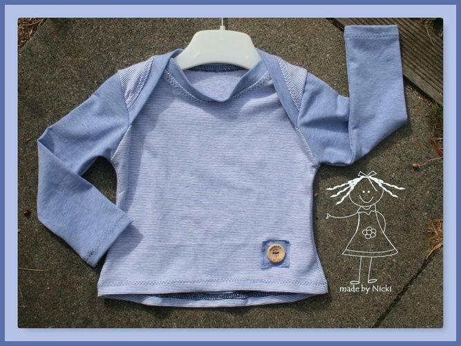 Makerist - Babyshirt Morgenstern nach dem Freebook von Lila-wie-Liebe - Nähprojekte - 1