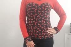 Makerist - Kirsch-Herz-Shirt für Damen - 1