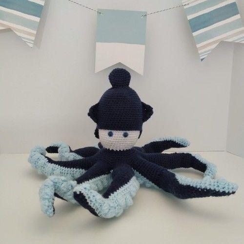 Makerist - Amigurumi – Octave the octopus - crochet – tutorial - Crochet Showcase - 1
