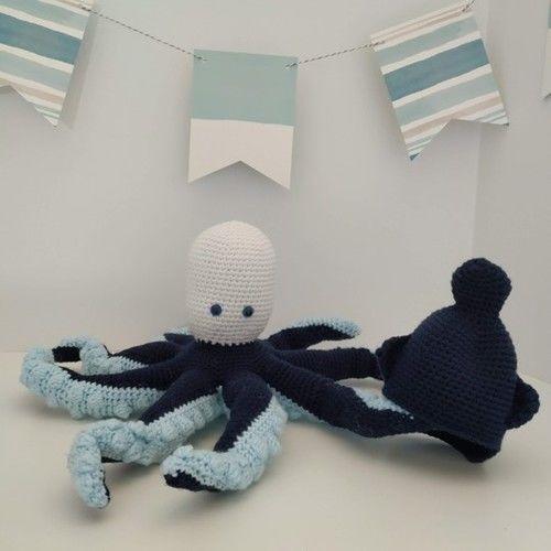 Makerist - Amigurumi – Octave the octopus - crochet – tutorial - Crochet Showcase - 3