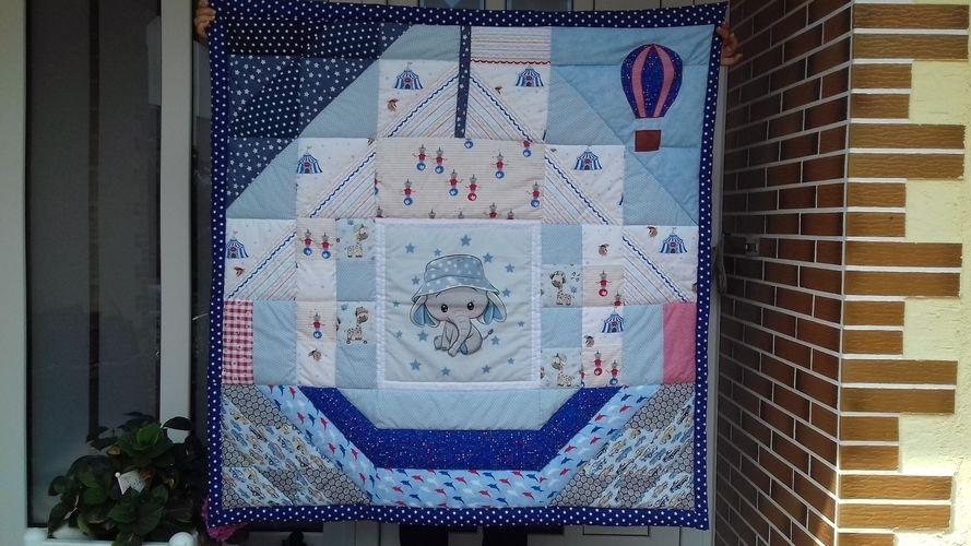 Makerist - Zirkus in der Stadt - Patchwork-Projekte - 1