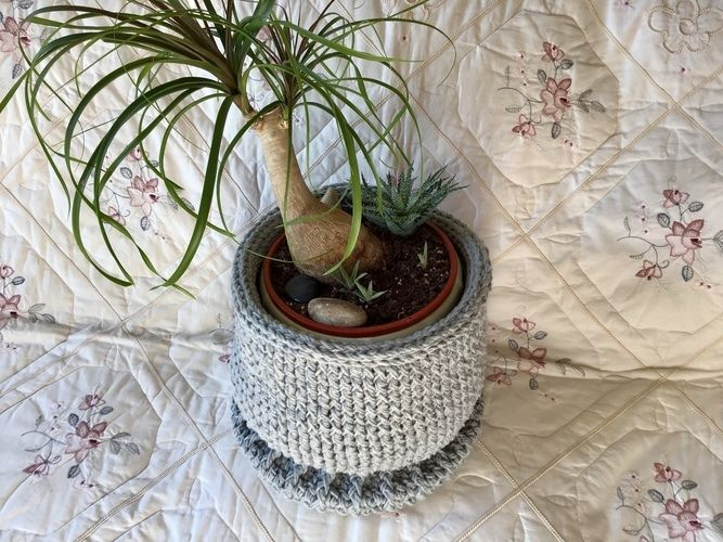 Makerist - The Hampton Pedestal Basket - Crochet Showcase - 1