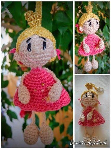 Makerist - Taschenbaumler Prinzessin - Häkelprojekte - 1