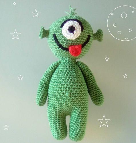 Makerist - Damien le Martien - Créations de crochet - 1