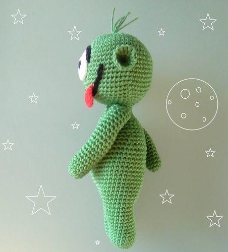 Makerist - Damien le Martien - Créations de crochet - 2