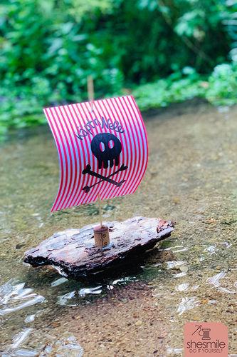 Makerist - Schwimmende Schiffe aus Rinde und Papier - DIY-Projekte - 1