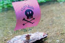 Makerist - Schwimmende Schiffe aus Rinde und Papier - 1