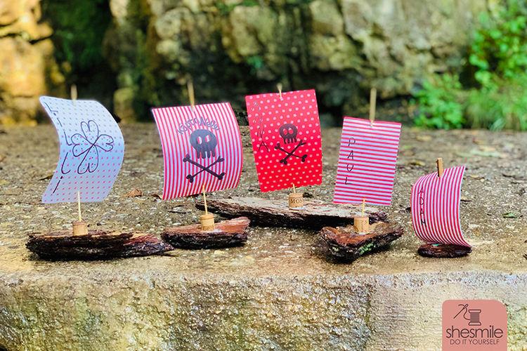 Makerist - Schwimmende Schiffe aus Rinde und Papier - DIY-Projekte - 2