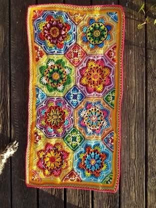 "Makerist - kunterbunte Häkeldecke ""Persian Tiles""  - 1"